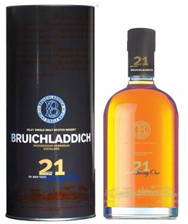 Bruichladdich Scotch 21 Aged Years